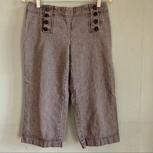 Vintage Cato sailor cropped wide leg knickers